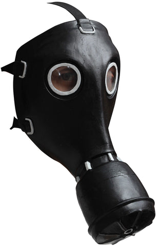 Gp-5 Gas Black Latex Mask - Willow Manor Shop