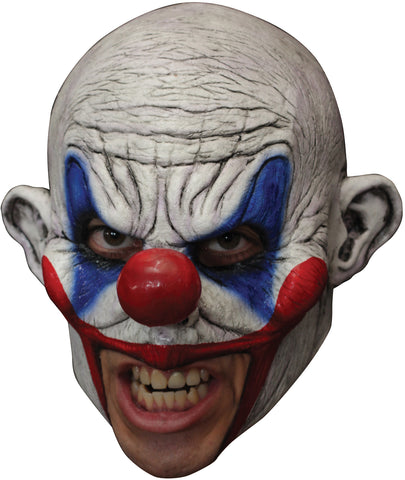 Clooney Clown Chinless Mask - Willow Manor Shop