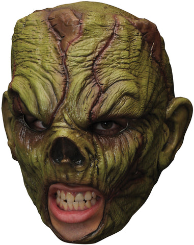 Zombie Monster Chinless Latex Mask - Willow Manor Shop