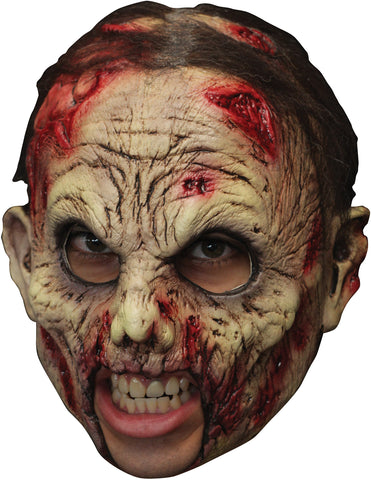 Deluxe Undead Zombie Chinless Mask - Willow Manor Shop