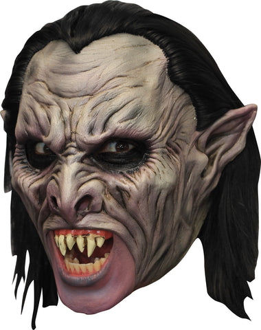 Deluxe Vampire Chinless Mask - Willow Manor Shop