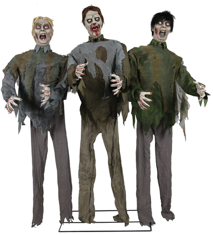 Life Size Zombie Horde - Animated - Willow Manor Shop