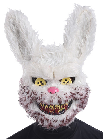 Snowball Bunny Mask - Willow Manor Shop