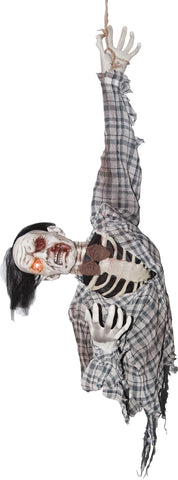 "56"" Zombie Ghoul Torso - Animated - Willow Manor Shop"