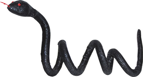 5 Ft Snake Poseable - Black - Willow Manor Shop