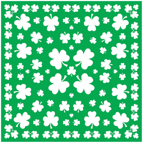 Shamrock Bandana - Willow Manor Shop