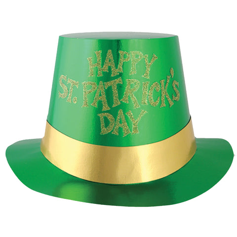 Glitter St. Patricks Day Hat - 5 Pk - Willow Manor Shop