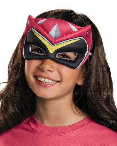 Pink Ranger Dino Puffy Mask - Willow Manor Shop
