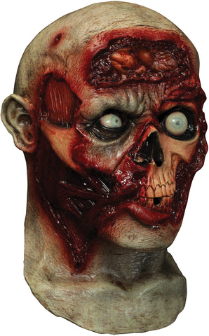 Pulsing Zombie Brains Digital Mask - Willow Manor Shop