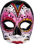 Day Of Dead Full Mask - Willow Manor Shop