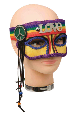 Hippie Rainbow Mask - Willow Manor Shop