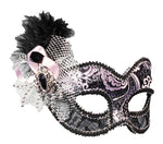 Venetian Showgirl Mask - Willow Manor Shop