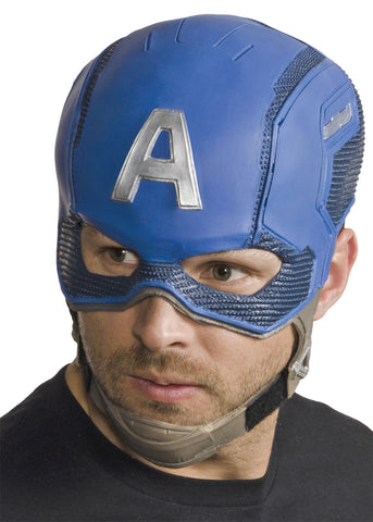 Captain America Full Mask - Willow Manor Shop