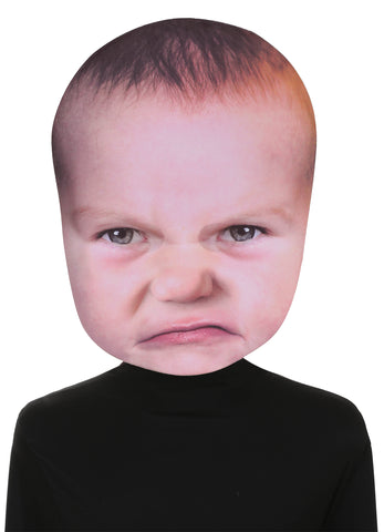 Baby Angry Face Mask - Willow Manor Shop