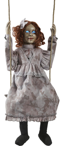 Swinging Decrepit Doll - Animated - Willow Manor Shop
