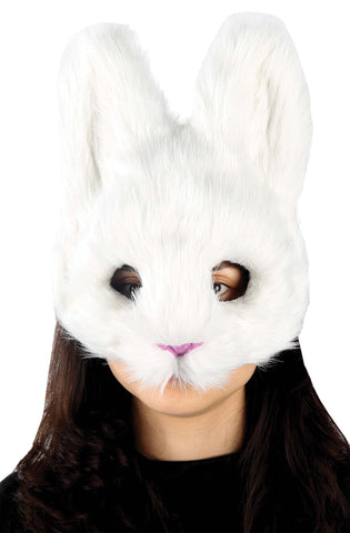 White Bunny Mask - Willow Manor Shop