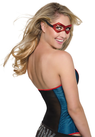 Supergirl Mask - Adult - Willow Manor Shop