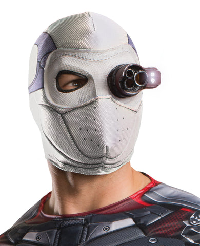 Suicide Squad Deadshot Mask - Lighted - Willow Manor Shop