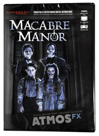 Atmosfearfx Macabre Manor Projection Dvd - Willow Manor Shop