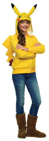 Pikachu Hoodie - Tween - Willow Manor Shop