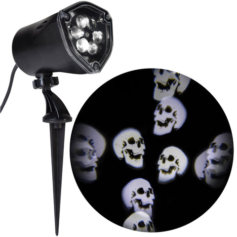Whirl Motion Lightshow Skulls - Willow Manor Shop