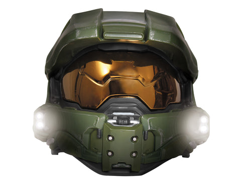 Master Chief Lighted Mask - Child - Willow Manor Shop