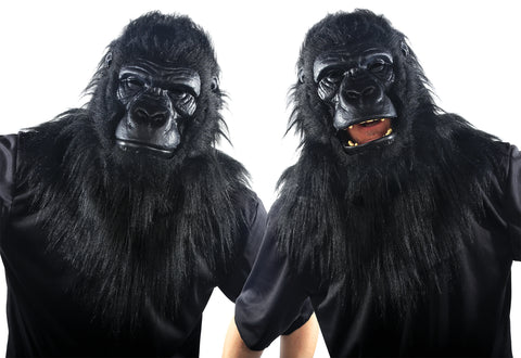 Animated Gorilla Mask - Willow Manor Shop