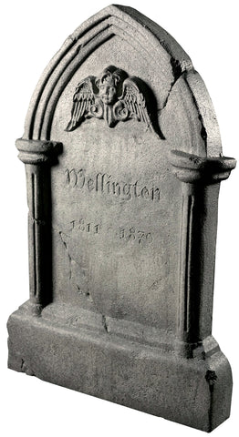 "36"" Tipping Tombstone - Frightronic - Willow Manor Shop"