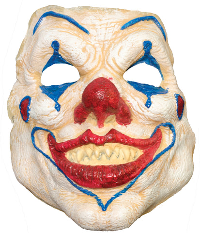 Evil Clown Pre-painted Foam Prosthetic - Willow Manor Shop