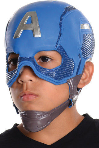 Captain America Mask - Child - Willow Manor Shop