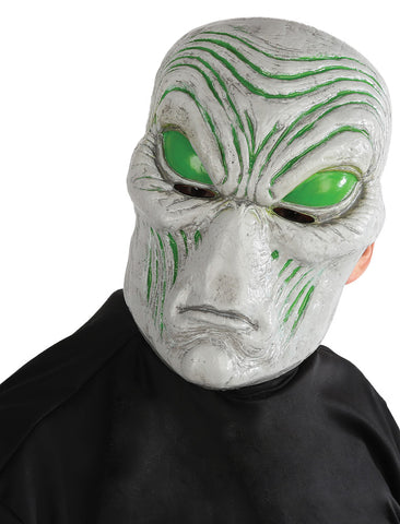 Light-up Gray Alien Mask - Willow Manor Shop