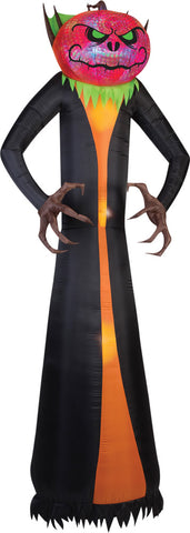 12 Ft Phantasm Pumpkin Reaper - Inflatable - Willow Manor Shop