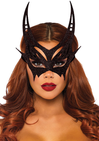 Glitter Black Mask - Willow Manor Shop