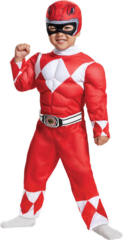 Red Ranger -Muscles 3-4T - Willow Manor Shop