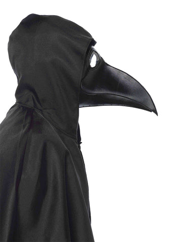 Faux Leather Plague Doctor Mask - Willow Manor Shop
