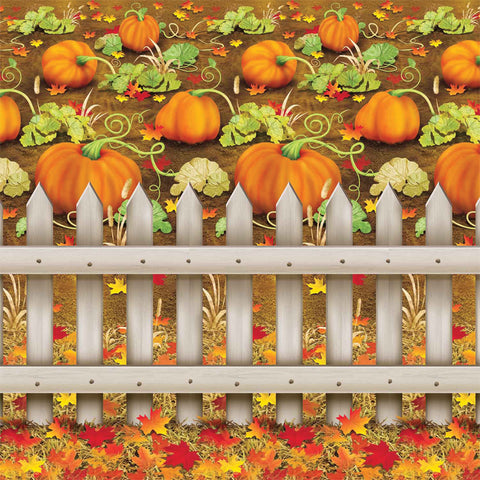 Pumpkin Patch Backdrop - Willow Manor Shop