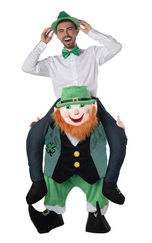 St. Patricks Day Carry Me Leprechaun Costume - Willow Manor Shop