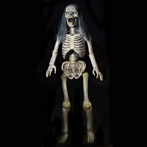 5 Ft. Hairy Scary Skeleton - Static - Willow Manor Shop