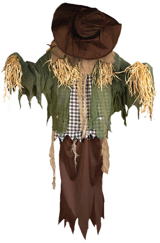 Hanging Surprise Scarecrow - Animated - Willow Manor Shop