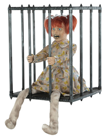 Caged Kid Walk Around - Animated
