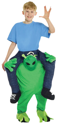 Alien Piggyback - Child - Willow Manor Shop
