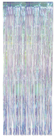 Fringe Curtain Iridescent - Willow Manor Shop