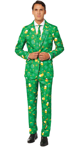St. Patricks Day Suit - Mens