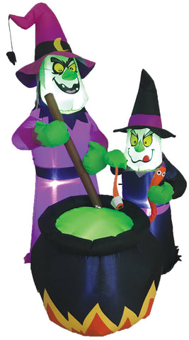 Witches Brew Lighted - Inflatable