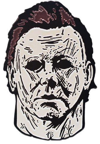 2018 Michael Myers Enamel Pin - Willow Manor Shop