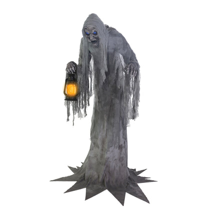 PRE-ORDER! 7 Ft Wailing Phantom - Animated - Willow Manor Shop