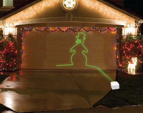 Mr. Christmas Light & Sound Laser Projector - Animated - Willow Manor Shop