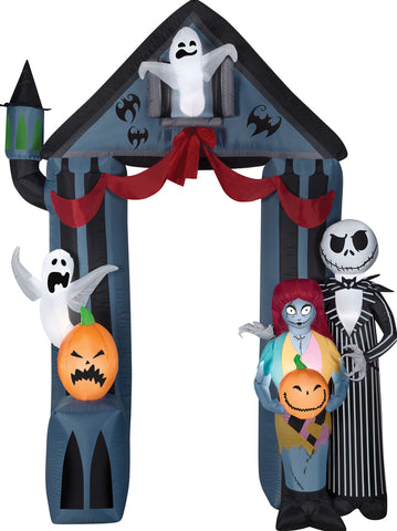9' Nightmare Before Christmas Archway - Inflatable