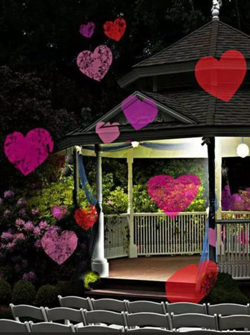 Hearts Valentines Day Projector - Multi Holiday - Willow Manor Shop