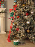 Musical Elf Climbing Tree Ladder - Animated